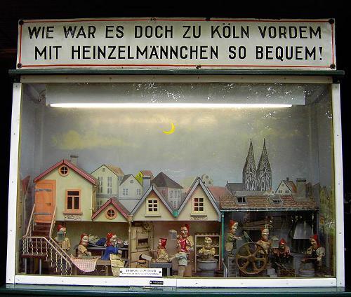 Koeln Lese Die Heinzelmännchen Zu Köln